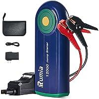 Rumia Avviatore di Emergenza 1000A 12000mAh Avviatore Batteria Auto per Motore Benzina Fino a 6.0L e Diesel 4.0L…