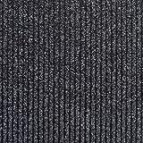Top Qualität Anthrazit Fußmatte–Eingang holt Matten–Gerippte strapazierfähige Fußmatte–Schmutzfangmatte–5m Länge x 1m Breite