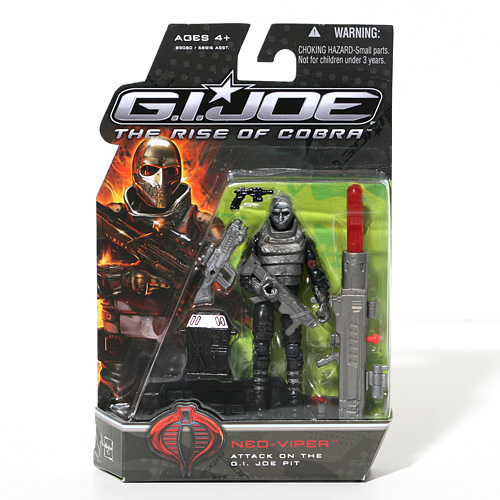 G.I. Joe Neo Viper - Attack on the G.I. Joe Pit - The Rise of Cobra - Actionfigur von Hasbro