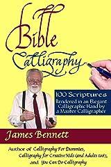 Bible Calligraphy 100 Scriptures Paperback