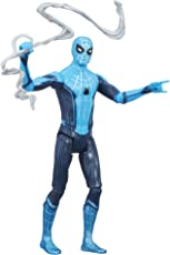 Spider Man Homecoming Tech Suit Spider Man Figure, Multi Color (6 inch)