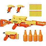 NERF Alpha Strike Battalion Set -- Includes 4 Blasters, 4 Half-Targets, and 25 Official Elite Darts -- For Kids, Teens…