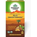 Organic India Tulsi Ginger Turmeric - 25 Tea Bags