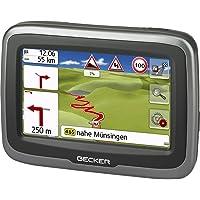 Becker mamba.4 CE LMU Motorrad-Navigationsgerät (Blendfreies 10,9 cm (4,3 Zoll) Display, 20 Länder Zentral-Europas…