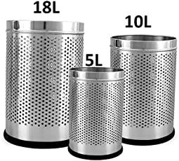 Parasnath Stainless Steel Perforated Dustbin