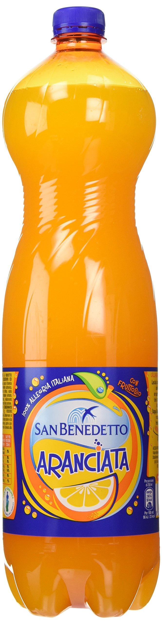 San Benedetto - Aranciata, con fruttosio - 1500 ml [confezione da 6]