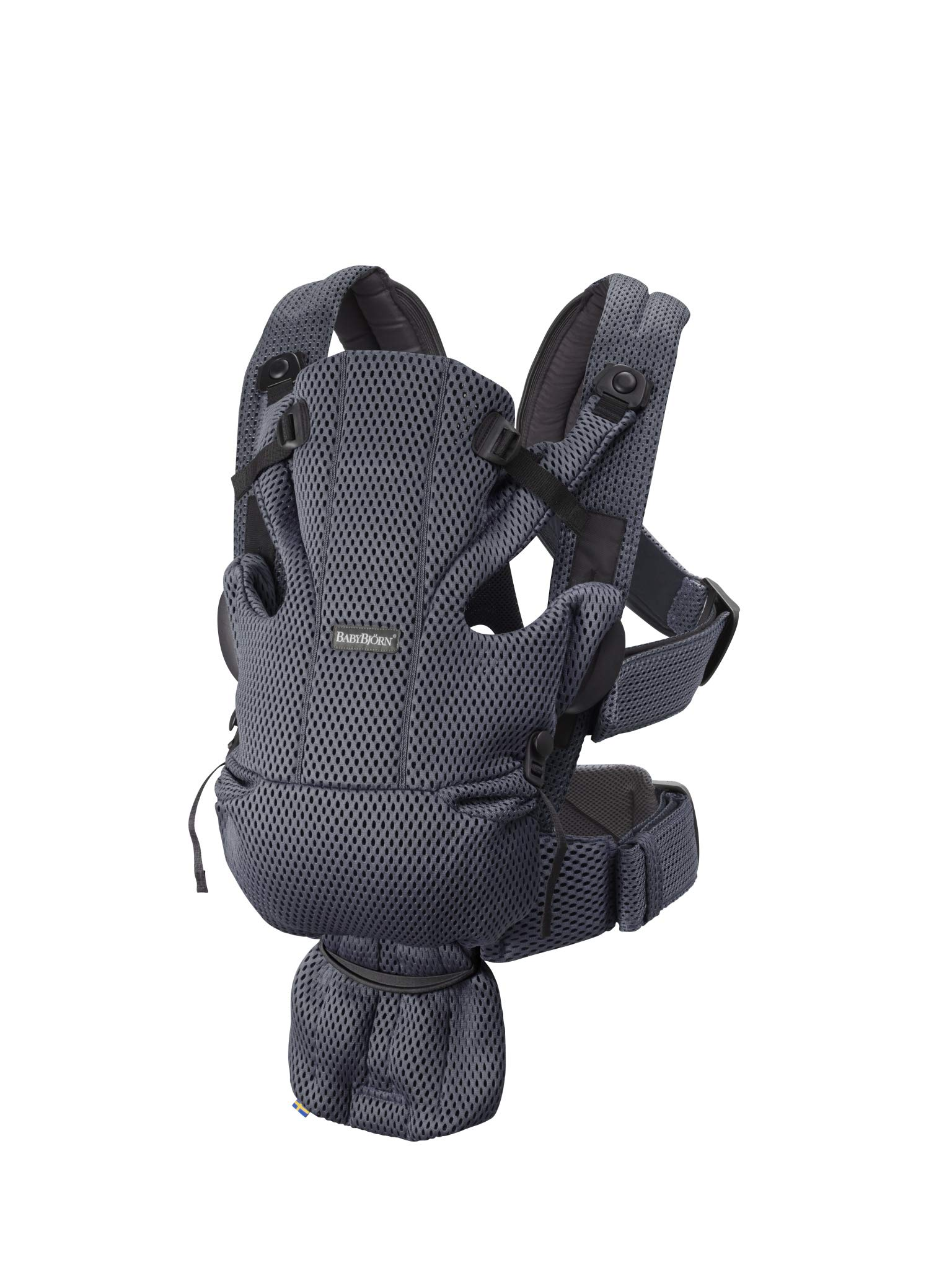 BABYBJÖRN Baby Carrier Move, 3D Mesh, Anthracite Baby Bjorn Excellent comfort with built-in back support and waist belt Easy to put on and take off Soft and airy design in cool 3D mesh 2