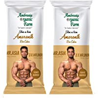 Ambrosia Organic Slim N Trim Amarnath Rice Cake (Pack of 2, 2x150gms) (Amarnath)