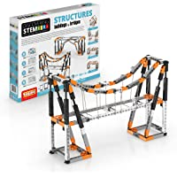 Engino Entdecken Sie STEM-Strukturen und Brücken, 9 funktionierende Modelle, bebilderte Bedienungsanleitung, Theorie und…