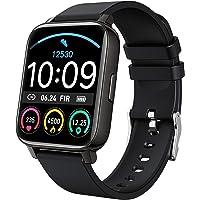 Smartwatch, Fitnessuhr 1.4 Zoll Voll Touchscreen Fitness Tracker mit Pulsmesser und Schlafanalyse