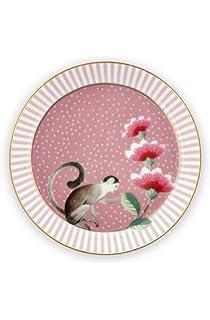 PiP Studio Early Bird plato rosa 21 cm