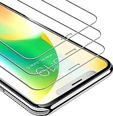 UNBREAKcable iPhone X/XS Panzerglas [3 Stück] für Apple iPhone X/XS, 9H Härte Panzerglasfolie, 2.5D Displayschutzfolie, 3D-Touch, Anti-Bläschen, Anti-Kratzer