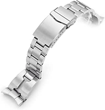 Cinturino in metallo spazzolato per Orient Kamasu da 22 mm