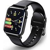 Smartwatch, Fitnesshorloge Fitness Tracker Horloge 1.4 Volledig touchscreen Smart Watch IP68 Waterdicht Sporthorloge met hart