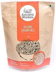Ancient Wisdom Organic Brown Sonamasuri Rice 1 KG