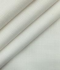 True Value White 100% Cotton Jute Weave Trouser Fabric (Unstitched – 1.30 Mtr)