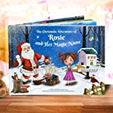 Personalised Kid's Christmas Story Book - Totally Unique - Great Xmas Gift for Children