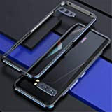 JAMIE Case For Asus ROG Phone 3 2020 ZS661KS, Luxury Aluminum Metal Bumper Frame Screw Case Cover, Metal Phone Cover Shockpro