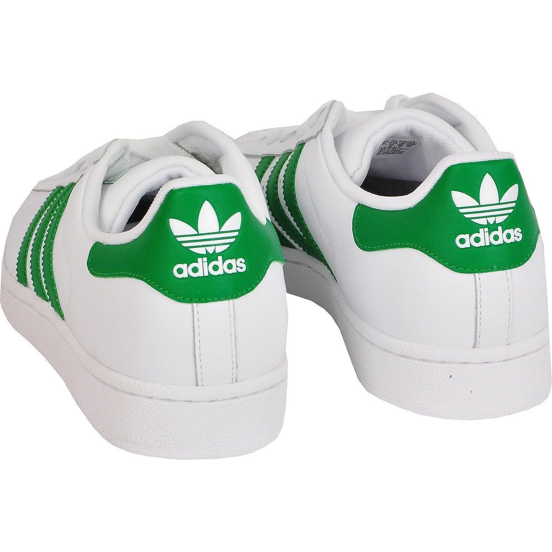 adidas superstars grüne streifen