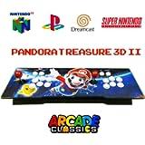 Pandora Treasure 3D II [2650 Giochi Integrati] Videogiochi Console Arcade Sala Giochi Retrò Retro da BAR Anni 80/90 FULL…