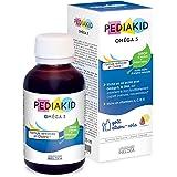 PEDIAKID - Complément Alimentaire Naturel Pediakid Oméga 3 - Formule Exclusive au Sirop d'Agave - Riche en DHA - Favorise le