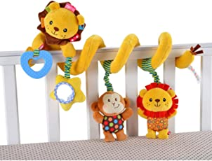 Baby Grow Jollybaby Baby Car Bed Hanging Around Lion Animal Spiral Activity Toys 0M+