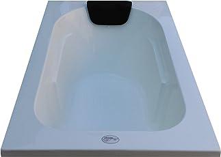 MADONNA Acrylic Prestige Bath Tub for Baby Boys and Girls (White, 4ft)
