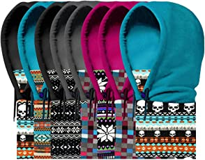 Generic 2, One Size : Functional Keep Warm Fleece Hat+Tube Neck Beanies Skullies Balaclavas Motorcycle Skiing Cycling Winter Hats Caps Face Mask Scarf