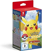 Pokémon Let's Go Pikachu! + Poké Ball Plus