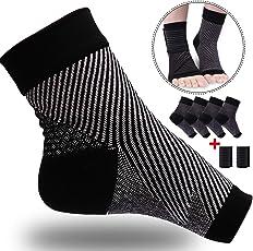 Kompressionssocken,Fußgelenk Bandage (2 Paar),Plantarfasziitis Kompressionsmanschette, für effektive Kompression beim Laufen & Sport - Kompressionsstrümpfe,Schmerzlinderung bei Plantarfasziitis