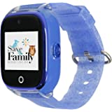 Reloj con GPS para niños SaveFamily Infantil Superior acuático Ip67 con cámara. Botón SOS, Anti-Bullying, Chat Privado, Modo
