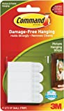 Command - 17202 Small Picture Hanging Strip (White, 4 Pairs) (17202-ALT)