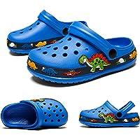Kids Clogs Garden Shoes Cute Beach Sandals Summer Lightweight Pool Shower Slippers for Toddler Boys Girls