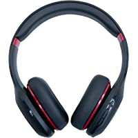 Mi Super Bass On-Ear Wireless Headphones with Mic and Bluetooth v5.0, (Black & Red)