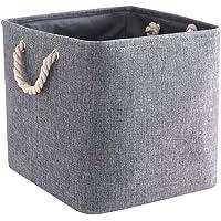 Mangata Cube de Rangement Tissu, Panier Cube de Rangement, Boite de Rangement Pliable pour Jouets, Vêtement 28 x 28 x 28…