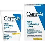 CeraVe AM Facial Moisturising Lotion SPF 25 | 52ml/1.75oz | Daily Facial Moisturiser with SPF for Normal to Dry Skin
