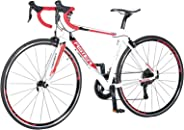 Aster Tra Racing Bike - White Red (700*23C)