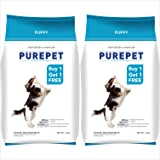 Purepet Chicken & Vegetable Puppy Dog Food, 1.1kg (Buy 1 Get 1 Free)