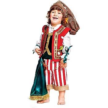 Costume di Carnevale da Pescatore Neonato Vestito per Neonato Bambino 0-3  Anni Travestimento Veneziano Halloween Cosplay Festa Party 50624 Taglia 0 21d0c5eb36de