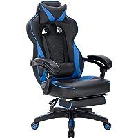 WOLTU Gaming Stuhl Racing Stuhl Bürostuhl Chefsessel Schreibtischstuhl Sportsitz mit Kopfstütze und Lendenkissen, mit…