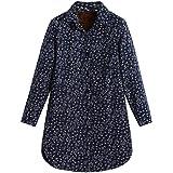 Cappotto Donna,ITISME Cotone delle Donne Linen Winter Warm Plus Giacca in Velluto con Stampa Folk-Personalizzata