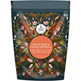 Monsoon Harvest Grain Free & Vegan Granola - Dark Chocolate & Roasted Almonds, Gluten-Free & Nutritious Breakfast Cereal with
