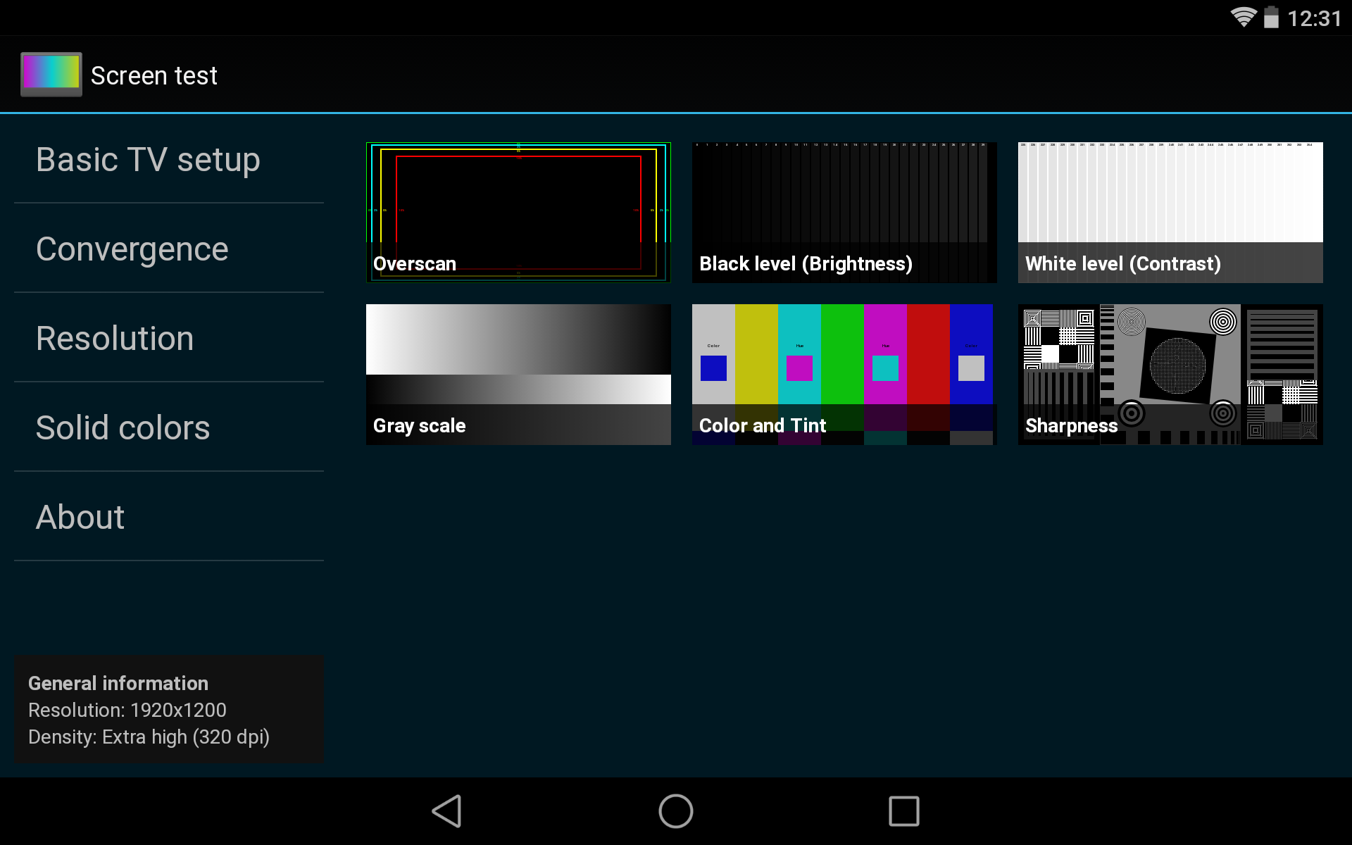 Screen test: Amazon in: Appstore for Android