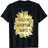 Disney Pixar Up World Of Adventure Tropical T-Shirt