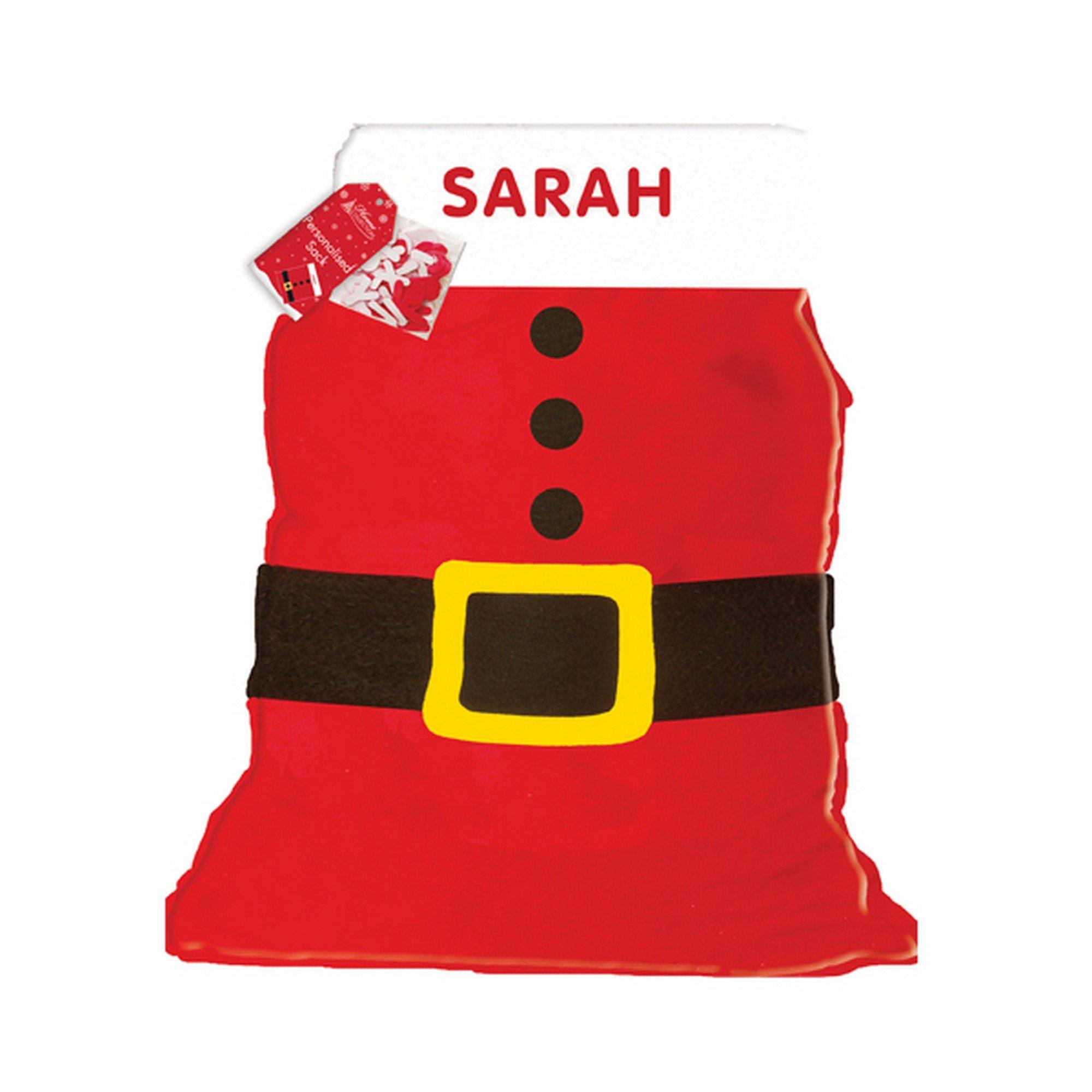 Foto Di Babbo Natale Per Bambini.Sacco Di Babbo Natale Personalizzabile Per Bambini E Bambine Casame