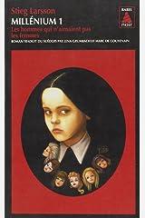 Millenium 1 (paperback) Les hommes qui n'aimaient pas les femmes (BABEL NOIR) Mass Market Paperback