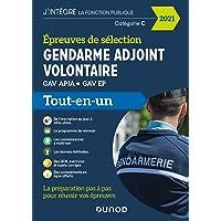 Epreuves de sélection Gendarme adjoint volontaire 2021 - GAV APJA - GAV EP: GAV APJA - GAV EP (2021)
