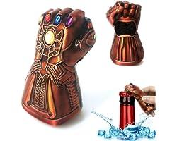 Beer Bottle Opener, Thanos Glove Bottle Opener, Marvel The Avengers 4: Endgame Bottle Cap Opener Best Gift Great for for Bar,
