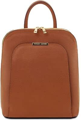 Tuscany Leather TL Bag - Zaino donna in pelle Saffiano - TL141631