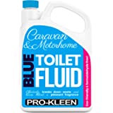Pro-Kleen Blue Toilet Chemical Fluid Solution Cleaner 2L for Caravan and Motorhomes - Eco-Friendly, Formaldehyde Free…